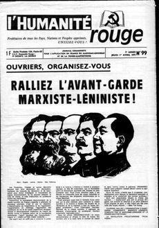 Ralliez l'avant-garde marxiste-léniniste
