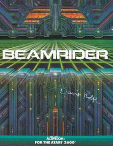 beamrider atari box