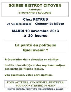 Café citoyens Charnay