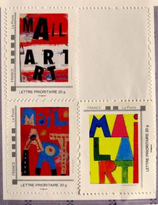 timbres Mail Art