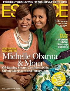 michelle obama and mother essence magazine cover may 2009