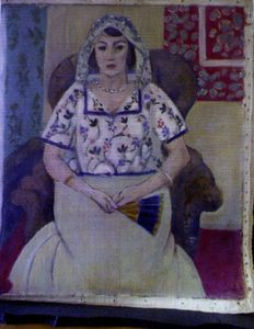 Seated Woman, Matisse, Loot