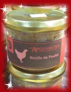 Résille de poulet Les Argonautes, marché de Noël deVési