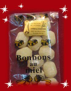 bonbons au miel la noue collinet, marché de Noël deVésig