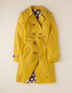 trench jaune boden 179e