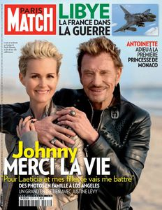 les magazines de presse avec johnny hallyday n 2 le. Black Bedroom Furniture Sets. Home Design Ideas