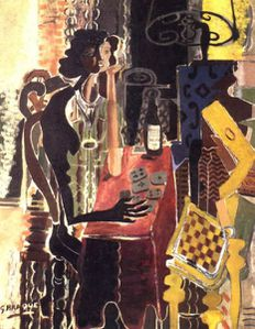 17. Braque Georges 1882-1963 La patience 1942
