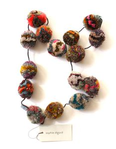 SD Paris pompom necklace large grande