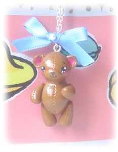 collier ours fimo 1