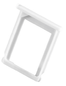 Tiroir support carte sim iphone 3G 3GS BLANC