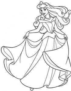 SLEEPING BEAUTY COLOURING PAGE[1]