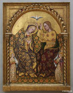 Couronnement de Marie.
