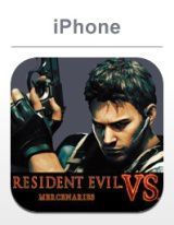 RE mercenaries vs iphone