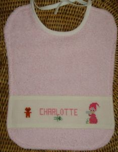 bavoir charlottebeya0203