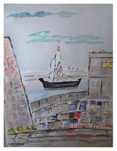 Marseille, sortie du Port