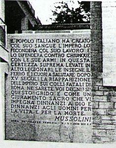 N° 2 frase Mussolini