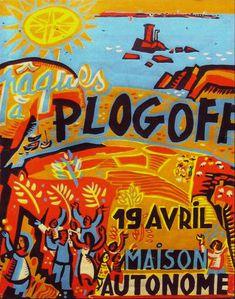 028 Affiche Plogoff maison autonome