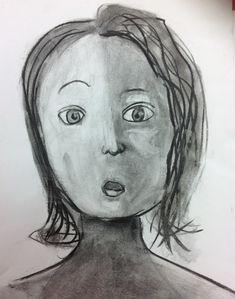 portrait fusain 6