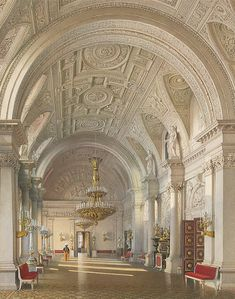 Interiors-of-the-Winter-Palace-The-White-Hall