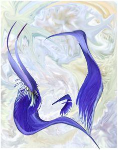 Conte des oiseaux bleus 1
