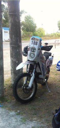 moto recupérée