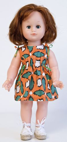 Modes et Travaux août 2014 - Robe tissu fantasio (1)