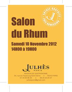 Le petit salon du rhum is back le blog de julh s paris for Salon du rhum