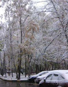 Moscou: la première neige