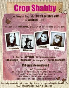 affiche officielle Crop Shabby