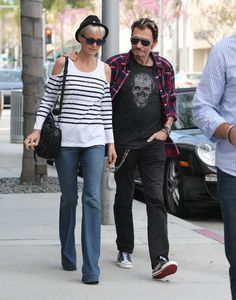 Johnny Hallyday et Laeticia Shopping à Beverly Hills n 1