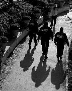 Ombre de la police