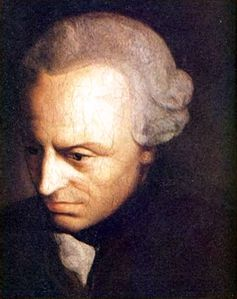 Immanuel Kant (painted portrait)