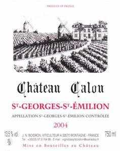 Calon St Georges 2004corrigée