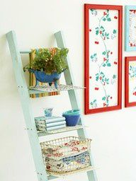 Re-purpose a ladder