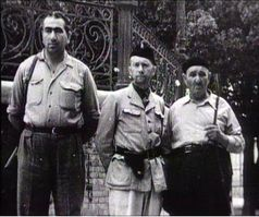 Région de Sétif - Miliciens en mai 1945