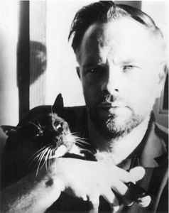 Philip K. Dick et son chat