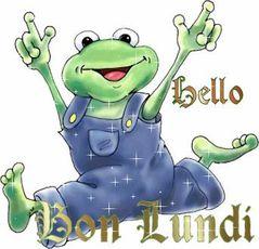 bon lundi grenouille
