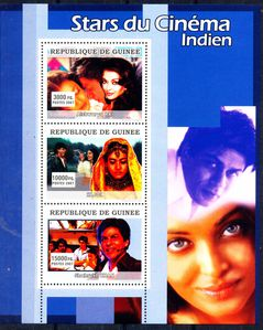 Indian stars on stamp