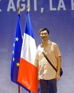 drapeau france et europe