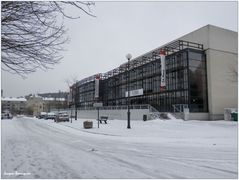 Creil Faiencerie Theatre neige 12 mars 2013