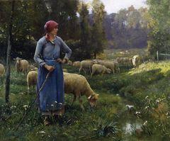julien DUPRE la fermiere