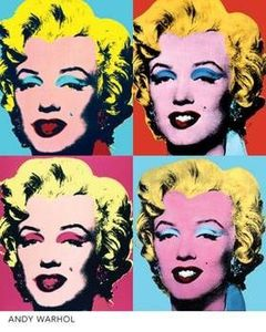 andy warhol Marylins