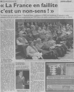 RL 30 janvier 2011