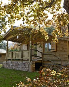 chalet camping col d'ibardin au pays basque automne