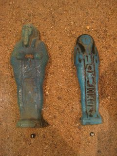 Egypte - Oushebti de Tchanefer - Oushebti de Renepneferet