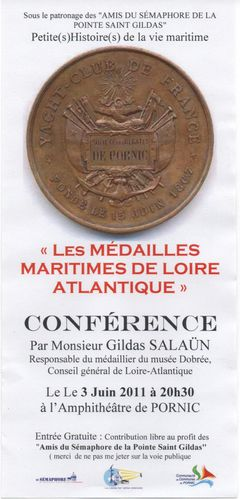 CONFERENCE MEDAILLES