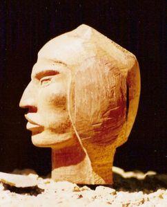 tête indien Sorata profil