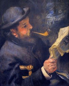 Renoir portrait de monet