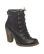 bottines lacées new look