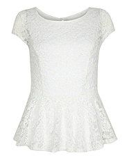 top peplum dentelle new look 19.99